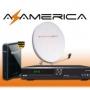 television satelital, antenas satelitales, azamerica s808, azamerica s812, newgen