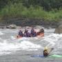 ecuador rafting  y canyonnig  salto del puente