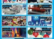 Artículos promocionales, servicios publicitarios, diseño e impresión de alta calidad?!!