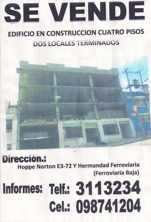 Vendo edificio en construccion