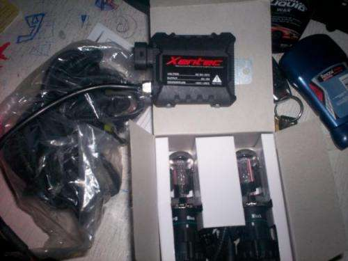 Vendo barato kit de luces bi xenon h4 (hi-low)