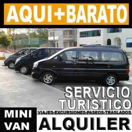 Alquiler, renta de furgonetas 2012 en quito . llame al: 0986981434 o al (02) 3807182