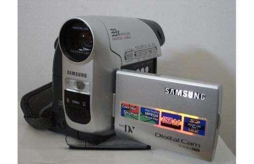 Oportunidad vendo video-camara samsung sc-d364 mini dv