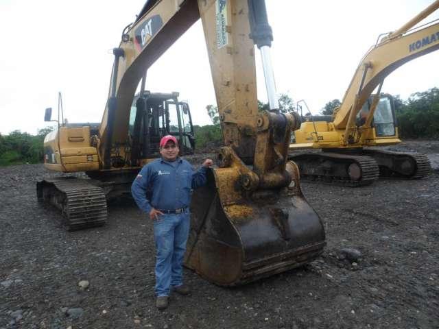 Busco oportunidad de trabajo en excavadora