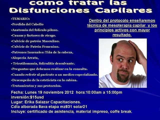 Taller seminario de disfunciones capilares