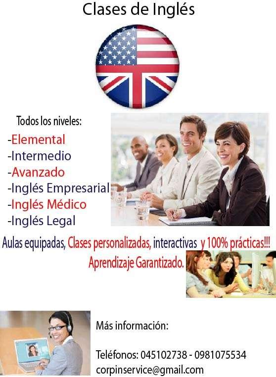 Clases personalizadas de inglés para todas las edades