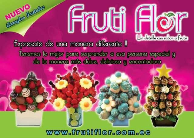 Arreglos frutales www.frutiflor.com.ec