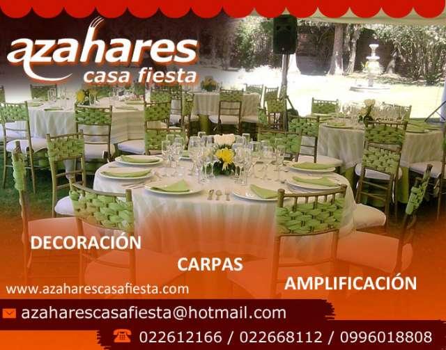 Servicios de catering para eventos sociales y corporativos