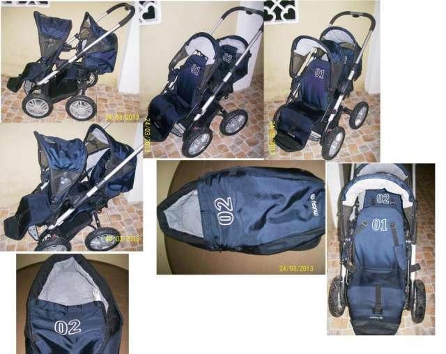b3c0ea696 Coche doble para bebes, muy practico y comodo en Guayaquil ...
