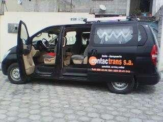 Servicio de furgoneta las 24horas del dia