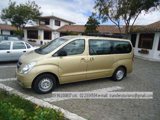 Alquilo furgonepara transfer y turismo llamar a 2334594