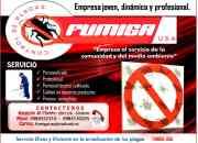 Fumiga Usa  servicios de Fumigacion  Control de plagas.