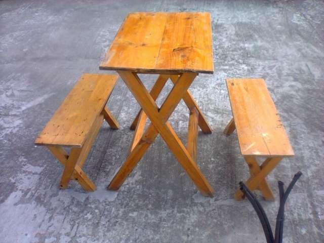Juegos de mesa de pino