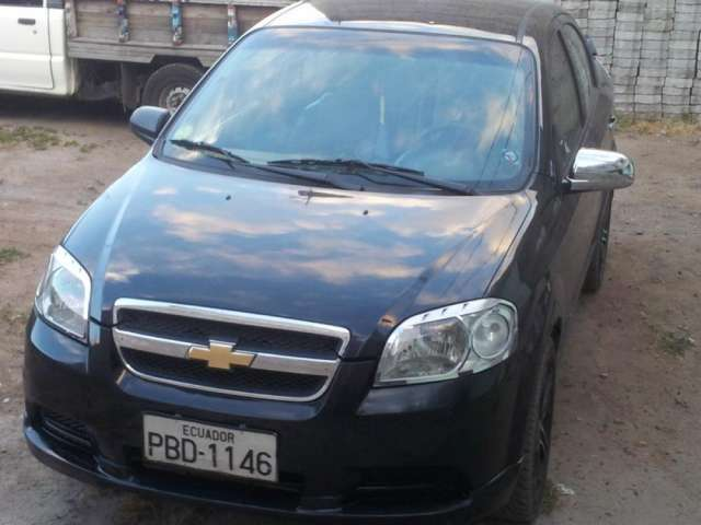 Fotos De Chevrolet Aveo Emotion 16 2008 En Quito Ecuador