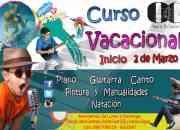 Vacacional de Musica, Guitarra, Canto, Piano, Pintura y Manualidades, Natacion
