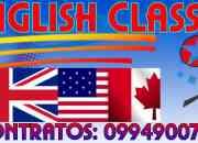 CURSOS Y CLASES DE INGLES A DOMICILIO EN GUAYAQUIL
