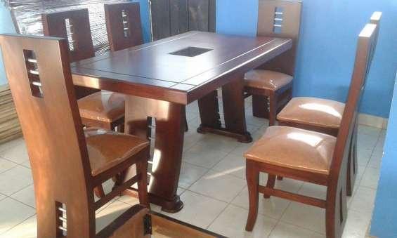 Juego de comedor moderno 6 puestos nuevo en Quito - Muebles | 266565