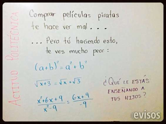 Clases a domicilio de matematicas!!!