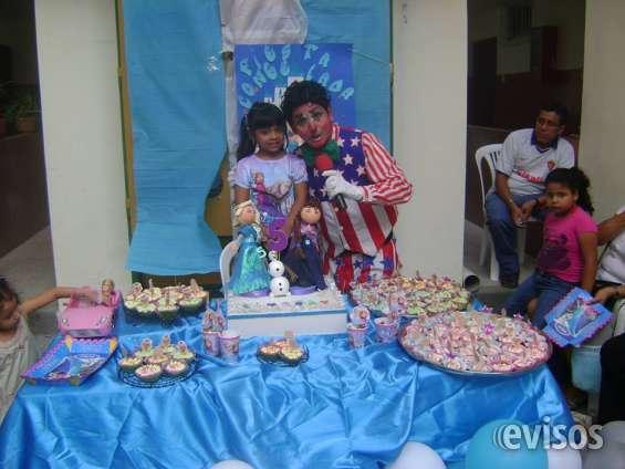Payasos para fiestas infantiles en guayaquil