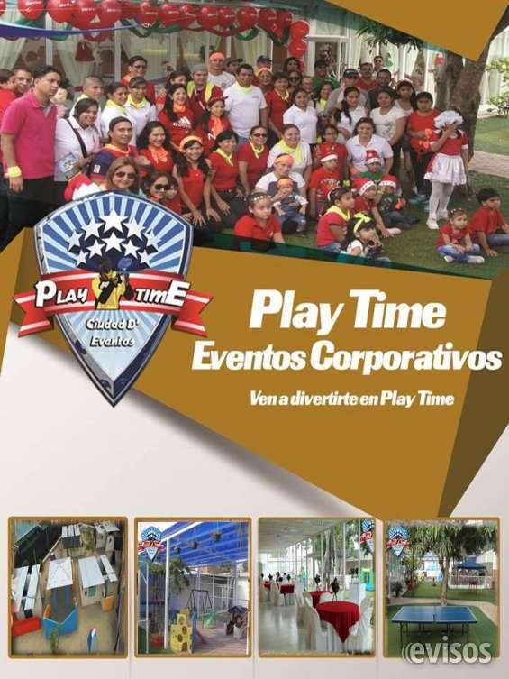 Play time salón de eventos al aire libre