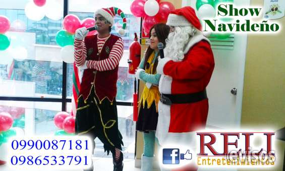 Fotos de Show navideño con reli entretenimientos 3