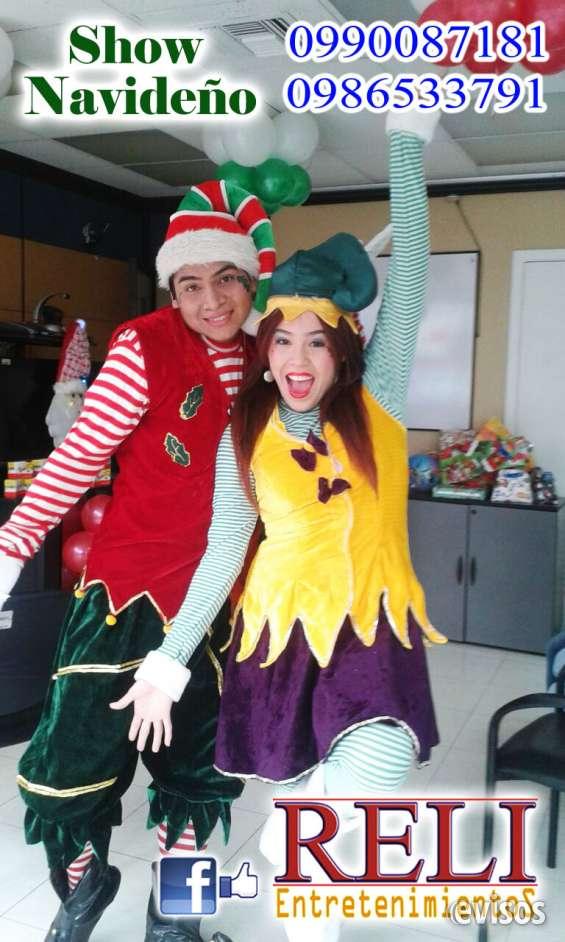 Fotos de Show navideño con reli entretenimientos 1