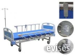 Cama hospitalaria elèctrica con colchòn