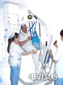 Grùa para transporte de pacientes