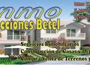 Compra y venta de terrenos y propiedades: Construcción de casas