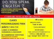 CLASES DE INGLES  SUPLETORIOS PREPARACION