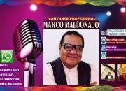 MARCO MALDONADO CANTANTE PROFESIONAL