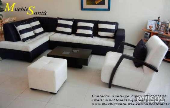 Juegos De Sala Lineales Desde 350 En Quito Muebles 286804