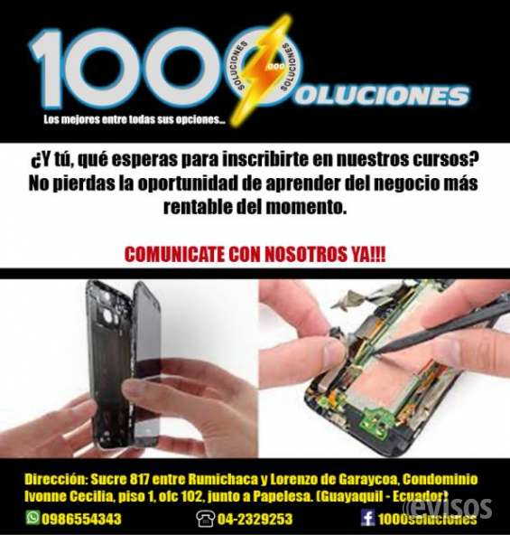 Cursos reparacion de celulares smartphones