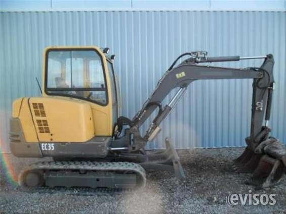 Excavadora volvo - ce 35 - retroexcavadora