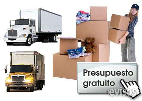 Mudanzas y carga con embalaje y empaque a nivel nacional