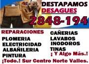 DESTAPES CON MAQUINARIAS EMERGENCIAS 311 25 35