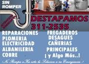 DESTAPES A PRESION SIN ROMPER EMERGENCIAS 311 25 35