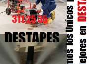 DESTAPES CAÑERIAS CON FULL EQUIPOS 311 25 35