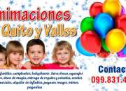 Payasitos, payasitas, animamos fiestas infantiles, en quito $58 Payasitos, payasitas, ani