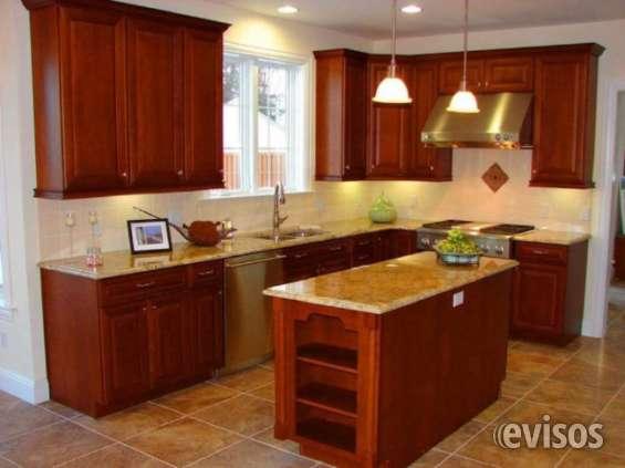 Diseño, fabricación e instalación de muebles de cocina y granito