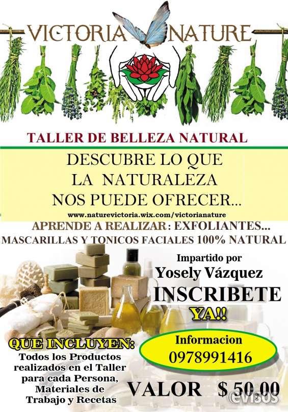 Taller de cosmetica natural ecosana