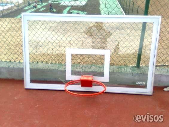 Tableros de basquet en fibra de vidrio somos fabricantes