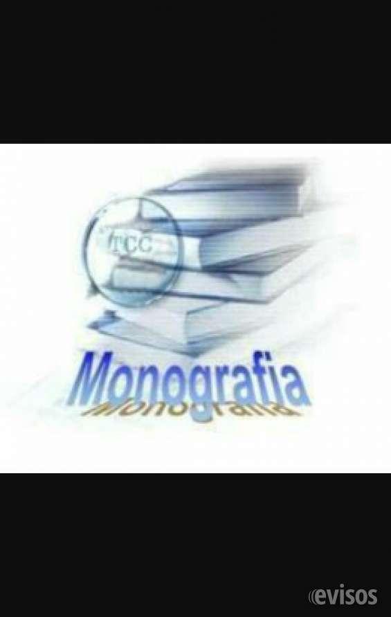 Se realizan monografías