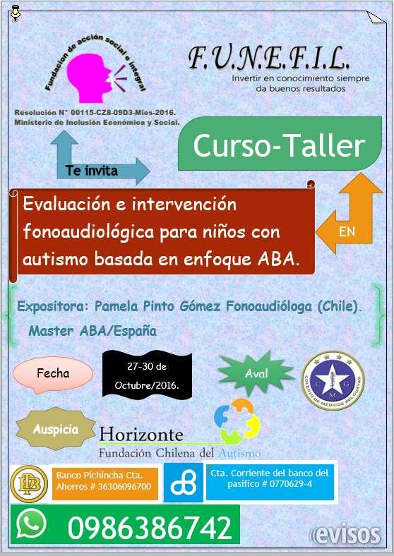 Evaluacion e intervención fonoaudiologica para niños con autismo basado en el enfoque aba