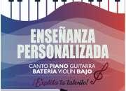 Clases de Música, piano, canto, guitarra, batería, violín. Barrio Centenario. 0967796319