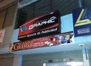 Algraphic publicidad , tarjetas de.presentacion, rotulos,