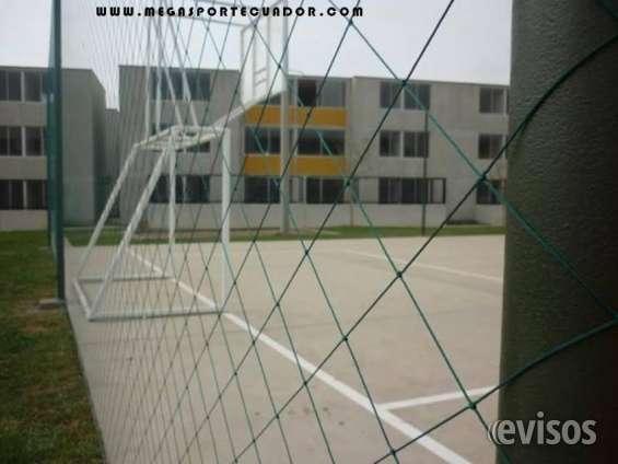 Mallas deportivas dnylon para cerramiento en qutio