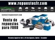 Venta de Repuestos Ford Quito - Ecuador
