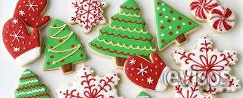 Galletas navideñas y decoración