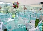 Servicio de Catering Alquiler de Vajilla Mesas vidrio sillas tiffany valle delos chillos